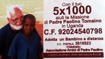 5 x 1000 Amici di Padre Paolino